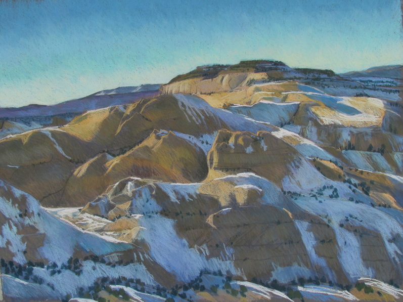 Slickrock, Utah, southwest, pastel, landscape, Scotty Mitchell