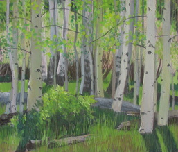Boulder Mountain, Utah, plein air, Scotty Mitchell