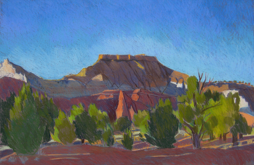 Kodachrome Basin, Utah, Plein air, Scotty Mitchell, pastel