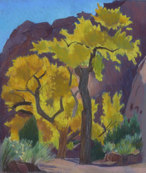 Long Canyon, Boulder Utah, Escalante, Scotty Mitchell, pastel landscape